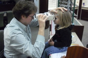 Preschooler vision related learning issues